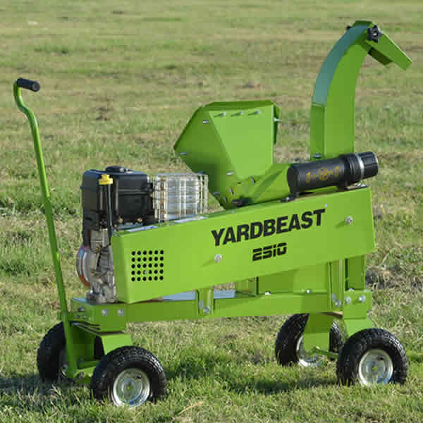 Gas-Powered Chipper Only