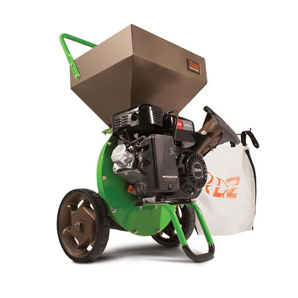 Gas-Powered Chipper Shredder