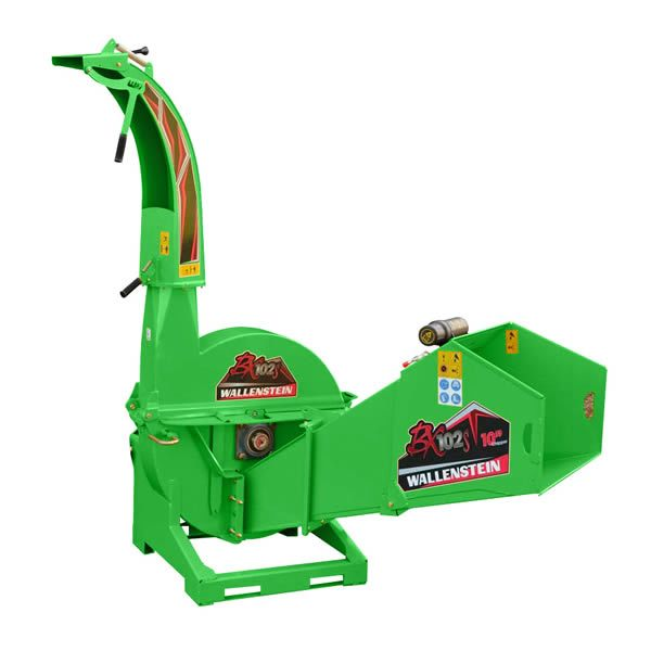 Commercial-Grade PTO Chipper