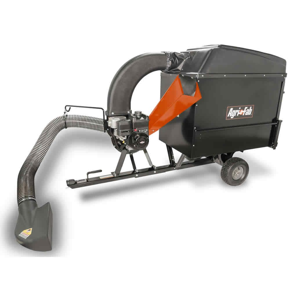 Tow-Behind Chipper Shredder Vacuum