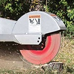 Stump Grinder Cutting Depth