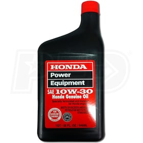 Honda 10W30 Engine Oil (1 Quart)