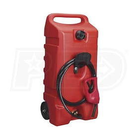 Flo N' Go DuraMax 14-Gallon Gas Can w/ Fuel Siphon
