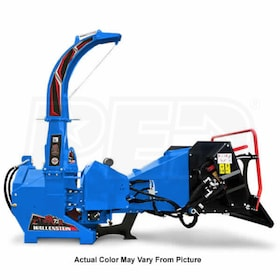 "Wallenstein (7"") 540-1000 RPM PTO Chipper w/ Hydraulic Feed - Blue"