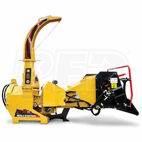 "Walllenstein (7"") 540-1000 RPM PTO Chipper w/ Hydraulic Feed & Intellifeed System - Yellow"
