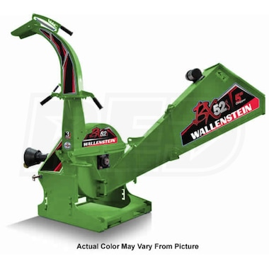 "Wallenstein (5"") 540-1000 RPM PTO Chipper - Green"